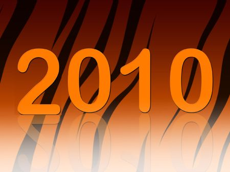 ciphers: New years tiger background