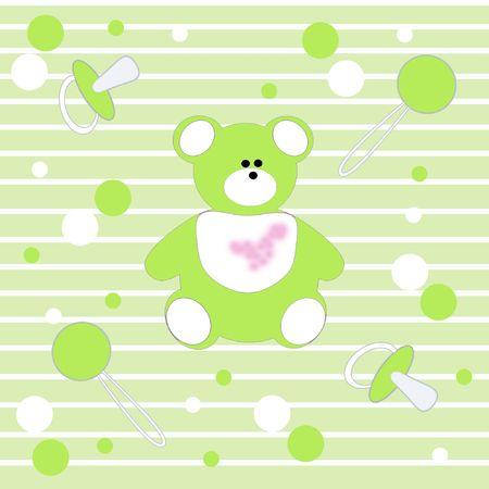 rattle: Children`s background