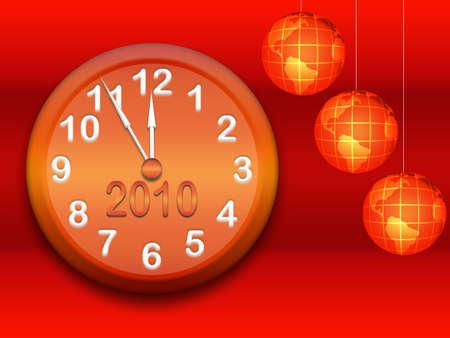 New year`s background photo
