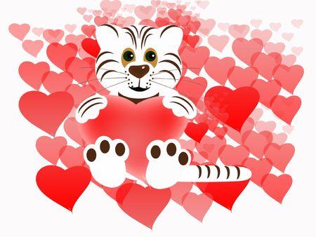 Valentines background Stock Photo - 6291969