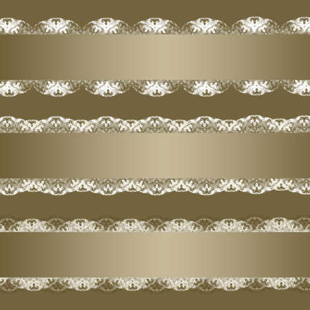 Collection of ribbons with lace Stock Photo - 8848401