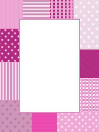 Pink photo frame photo