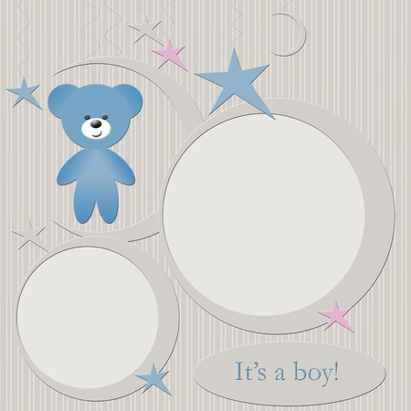 Blue babies boys photo frame photo