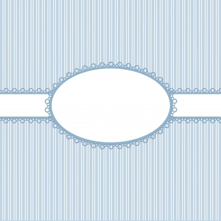 Template babies frame design for greeting card  Stock Photo
