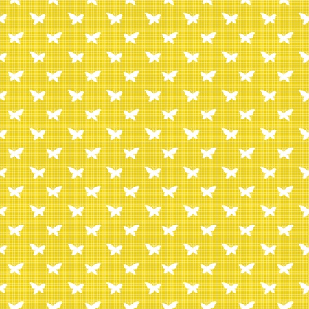 Yellow background with butterflies photo