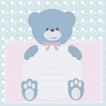 Baby shower invitation card Stock Vector - 12467134