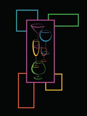 Wine Bar tarjeta del menú