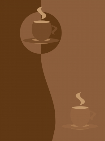 Cover of coffee menu Vector