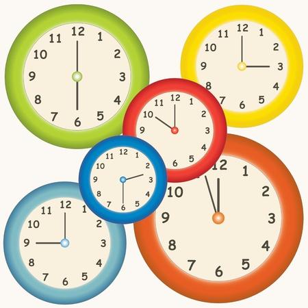 midday: Color clocks
