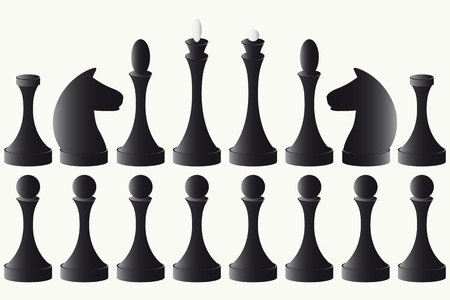 Chessmen Vector
