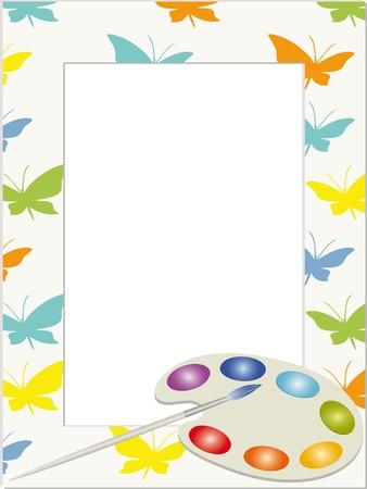 designer baby: Children photo frame