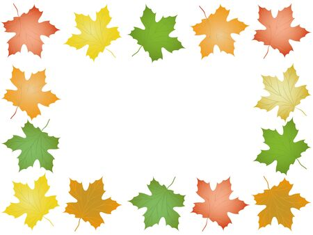 Autumn frame  Stock Vector - 15164458