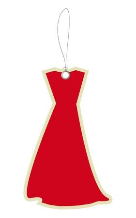 novelty: Price tag dress