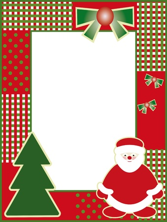 Christmas or new years frame Vector