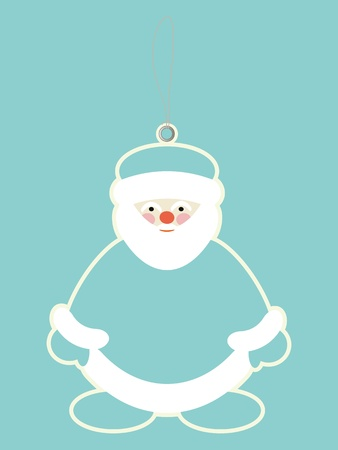 Santa claus price tags  Vector