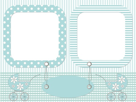 Baby photo frames Vector