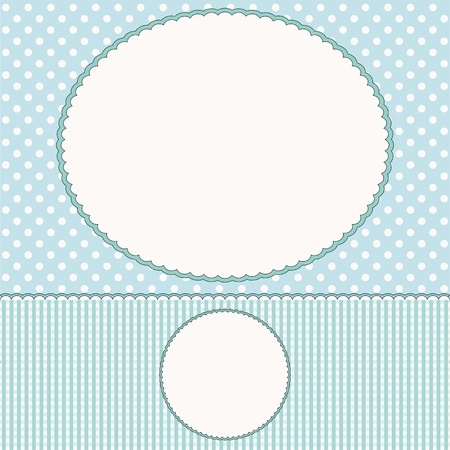 Babies background or photo frame Stock Vector - 16664576