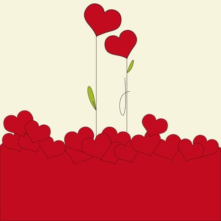 february 14: Valentine card