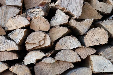 wood heating: heating material wood