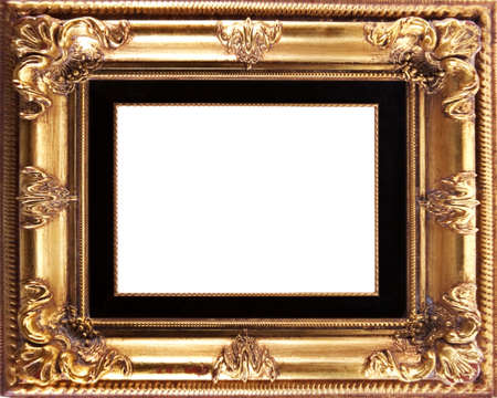 Ancient frame useful for photos and pictures Stock Photo