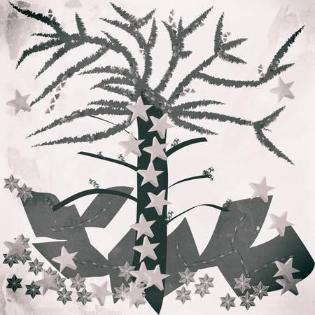 Grunge christmas Illustration