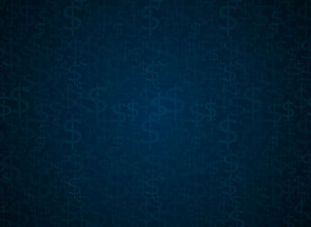 us paper currency: Dollar sign seamless vector background