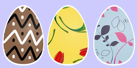heather: festive Easter eggs