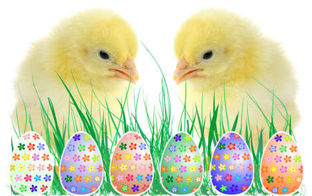 festive Easter eggs