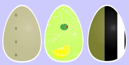 ellipse: Huevos de Pascua festivos