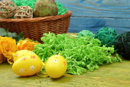 Easter egg decoration for festive
