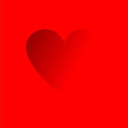 Love composition. Illustration