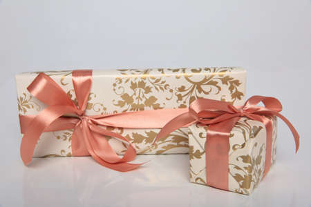 A gift is a great surprise and joy for everyone. Stock Photo