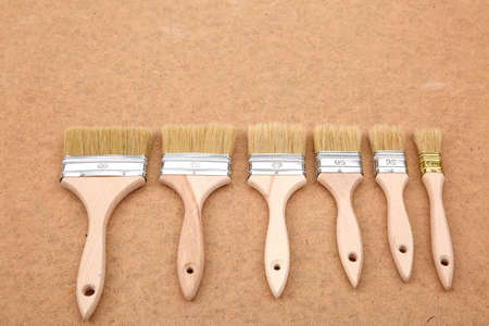 Brushes is a basic tool used in all painting work.