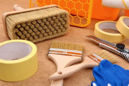 Outils et accessoires pour toute peinture pour un professionnel et un amateur.