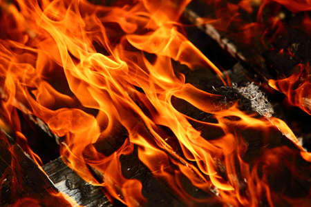 Fire is a phenomenon of thermal energy and light. Фото со стока