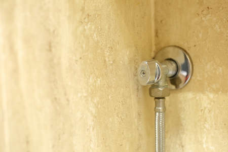 A valve that cuts off the water supply to a further part of the sanitary installation.