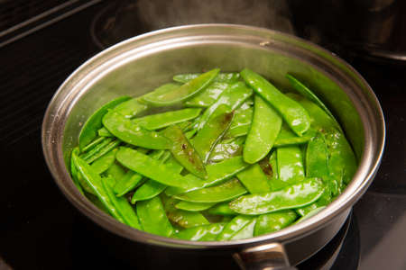 Lightly blanched vegetables are the best treats for every vegetarian.