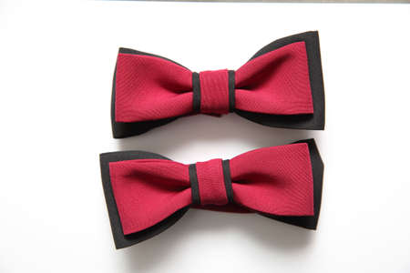 A bow tie is an exquisite decoration used in very solemn moments of life, for example, a wedding or a concert hall.