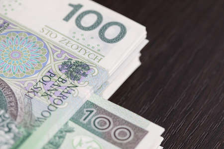 Collection of many banknotes in one place is a perfect accumulation of financial strength for any business.