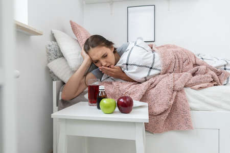 In addition to bed rest, you need to eat vitamins and medicines during illness.