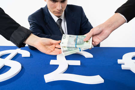 Special procedures to anticipate and track all international and intra-state transactions in order to catch financial frauds. 免版税图像