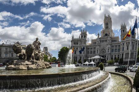 Plaza de Cibeles and the City Council of Madrid