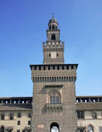sforza: The entry tower to Sforza Editorial