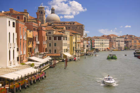 Grand Canal view in Venice, Italy