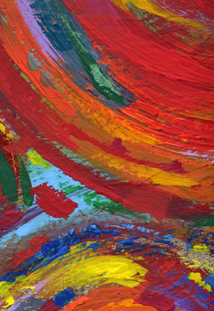 acrylic painting abstract texture background Stock Photo - 11147199