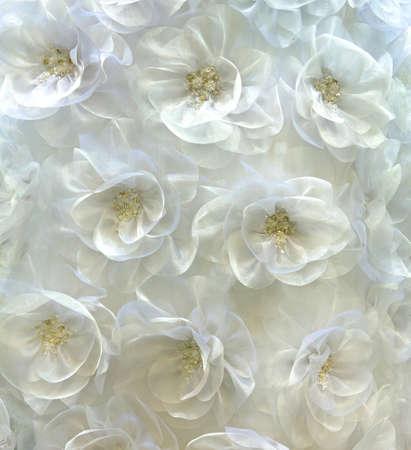 Flowery Kleidung mit Glasperlen abstrakten Hintergrund