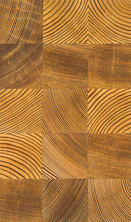 Wooden background of the squares of wood