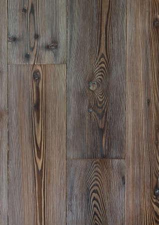 Abstract wooden background. Dark wooden floor.