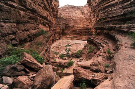 Quebrada de Cafayate national park Stock Photo