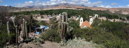 il villaggio di Humahuaca sulla Quebrada de Humahuaca